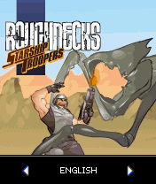 Starship Troopers: Roughnecks J2ME Title screen