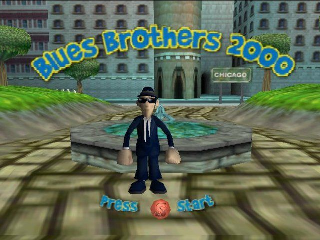 Blues Brothers 2000 Nintendo 64 Title screen