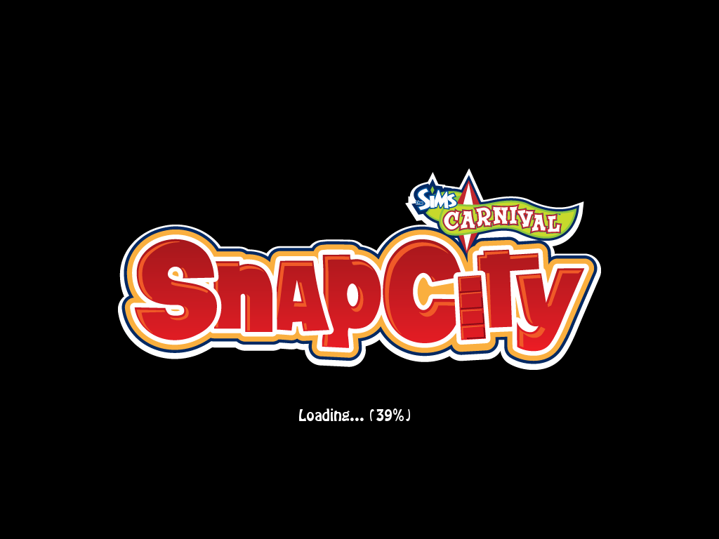 The Sims: Carnival - SnapCity Windows Loading screen