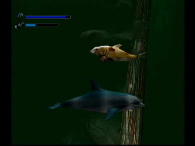 Ecco the Dolphin: Defender of the Future Dreamcast The warped dolphins of the future