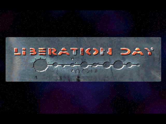 Liberation Day Windows Title screen