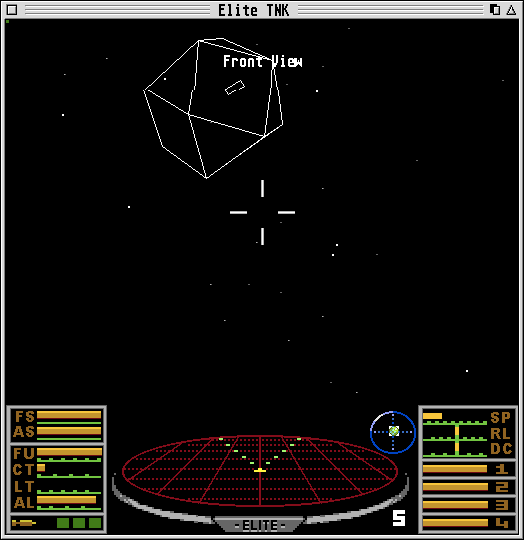 Elite: The New Kind Atari ST You can switch to wireframe graphics for speed and nostalgia.
