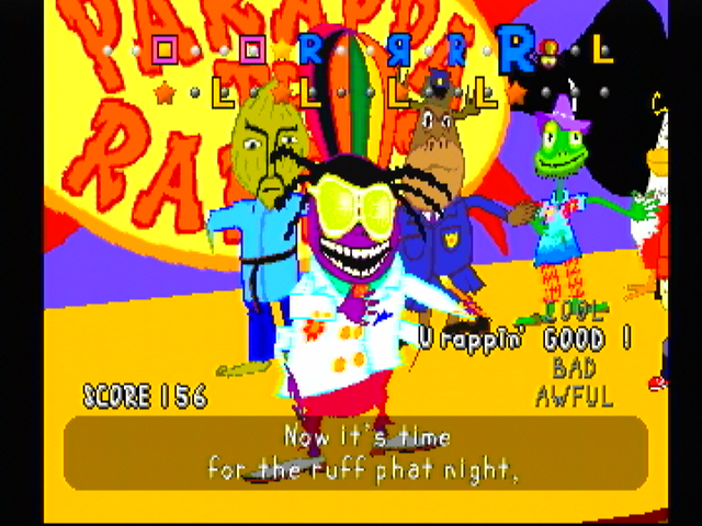 PaRappa the Rapper PlayStation The MC King keeps rapping with aplomb.