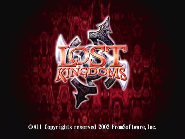 Lost Kingdoms GameCube title screen