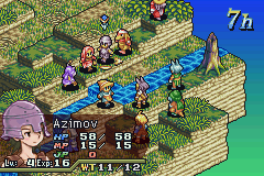 Final Fantasy Tactics Advance Game Boy Advance As a turn-based strategy game, each character is given actions in sequence.