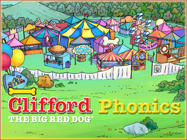 Clifford The Red Dog Game