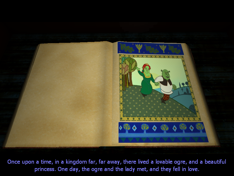 Shrek 2 Windows Intro - the beginning of the Shrek story