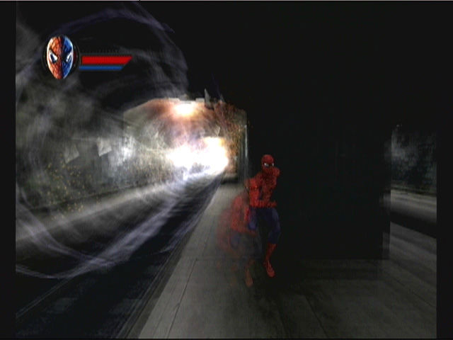Spider Man Movie Screenshots Spider-man The Movie Gamecube
