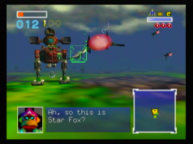 Star Fox 64 Screenshots For Wii Mobygames