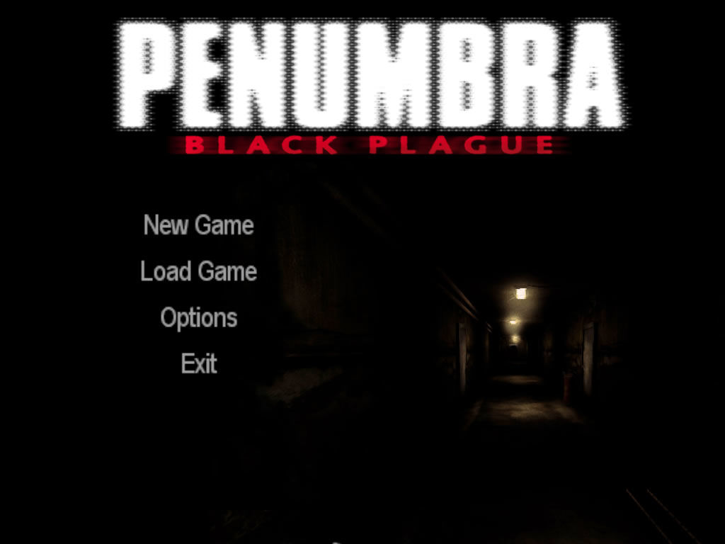 Penumbra: Black Plague Windows Main game screen