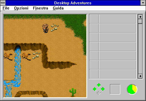 "Indiana Jones and his Desktop Adventures Windows 3.x Did you say scorpions?  Phew, I thought you said ""snakes""!"