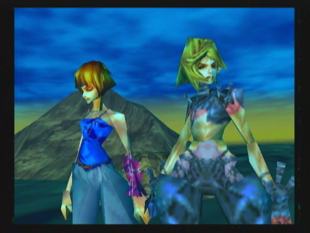 Sin and Punishment Wii Saki, a little worse for wear and tear, and Airan are together at last, could this be the end?