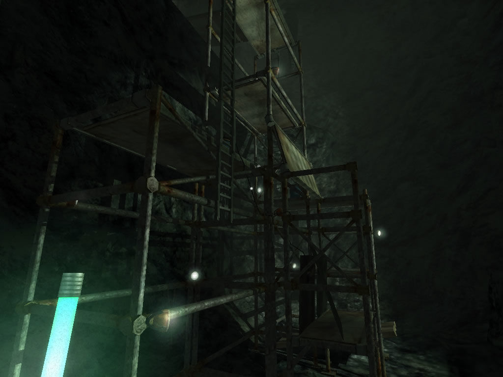 Penumbra: Black Plague Windows Find a way to climb this structure.
