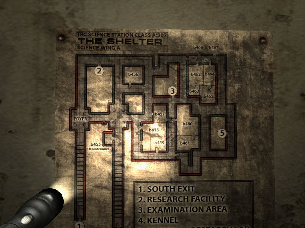Penumbra: Black Plague Windows A map of the area