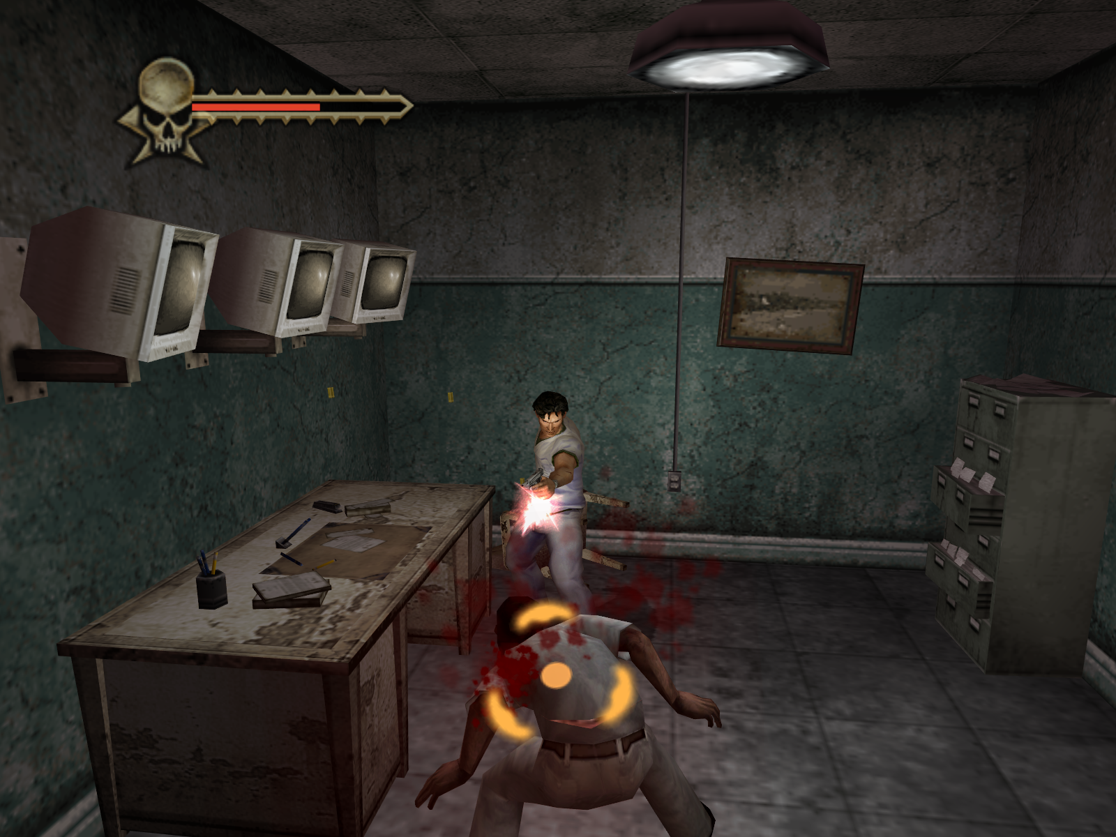 Evil Dead: Regeneration Windows You can manually target on a number of things beside enemies such as doors etc.
