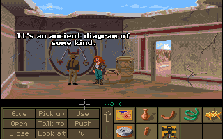 Indiana Jones and the Fate of Atlantis Amiga What does this mean?