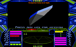 Elite Amiga A mission!