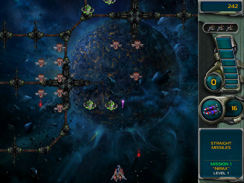 Star Defender III Windows The first mission takes place near planet Nirax in the Kenuriam system.