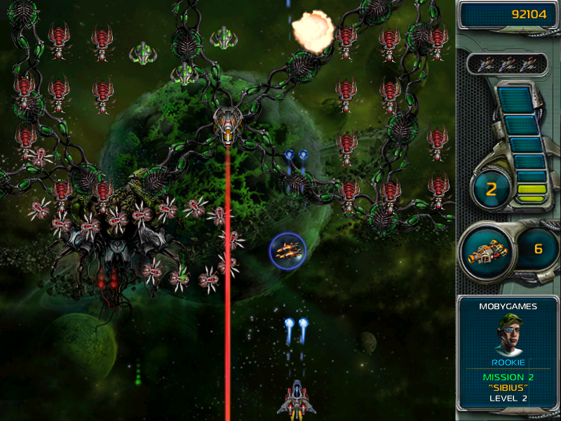 Star Defender III Windows This enemy's laser beam is possibly the best weapon they have against us.