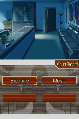 Phoenix Wright: Ace Attorney Nintendo DS On the place of murder