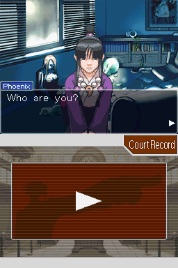 Phoenix Wright: Ace Attorney Nintendo DS Who are you?