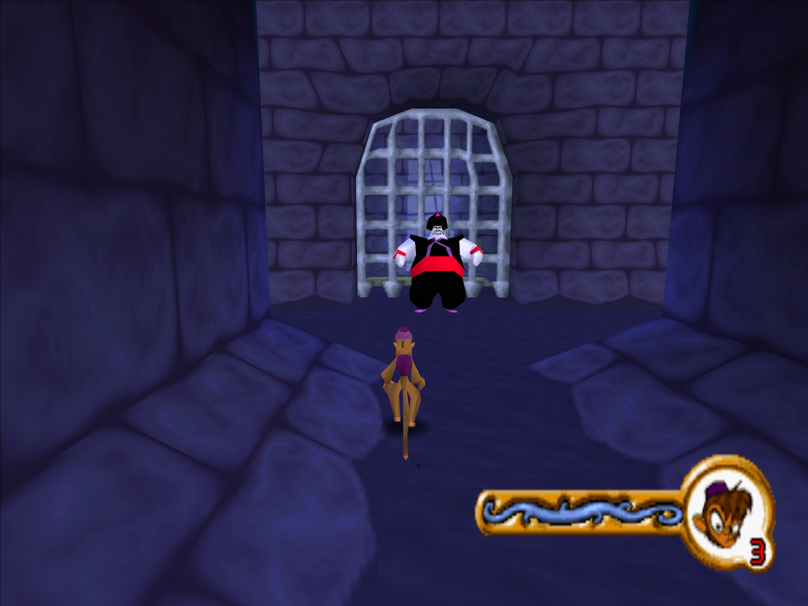 Disney's Aladdin in Nasira's Revenge Windows As Abu you will have to try and rescue Aladdin.