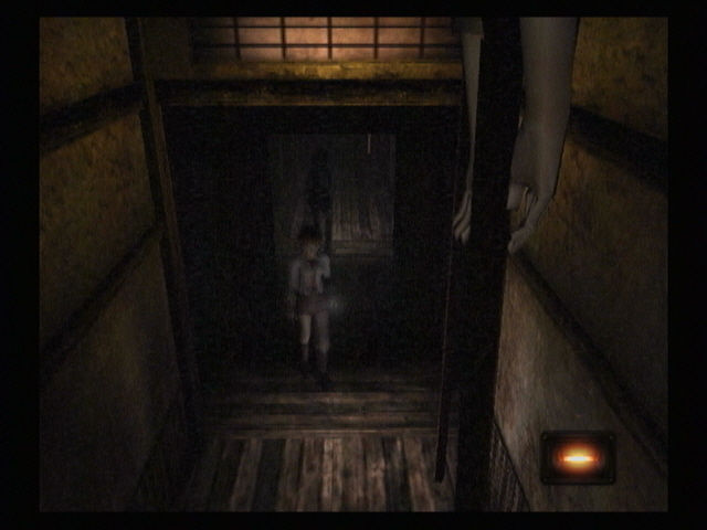 Fatal Frame PlayStation 2 Strange things start appearing and vanishing at the peripheries...