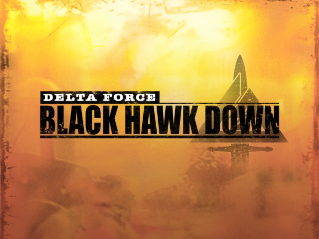Delta Force: Black Hawk Down Windows Title screen