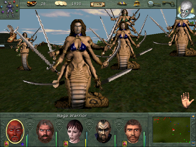 """Might and Magic VIII: Day of the Destroyer Windows These enemies drop skins when killed: """"Naga hide"""" :-)"""