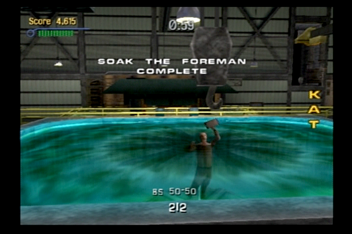 Tony Hawk's Pro Skater 3 PlayStation 2 Complete a number of tasks to move on to the next skating arena.