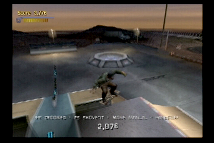 Tony Hawk's Pro Skater 3 PlayStation 2 A few levels can be unlocked from the original THPS, such as Roswell.