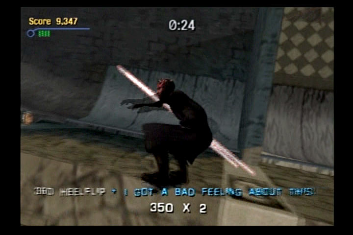 Tony Hawk's Pro Skater 3 PlayStation 2 A great idea for yet another Star Wars franchise game. George Lucas should be all over this.