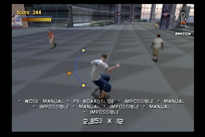 Tony Hawk's Pro Skater 3 PlayStation 2 Airport security used to allow this.