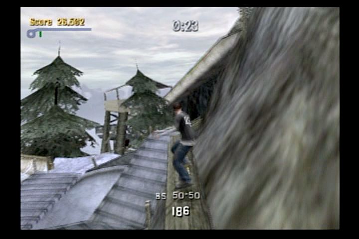 Tony Hawk's Pro Skater 3 PlayStation 2 You can grind pretty much anything in this game.