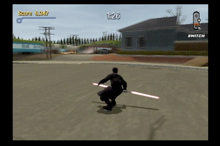 Tony Hawk's Pro Skater 3 PlayStation 2 Darth Maul can be unlocked as a skater.