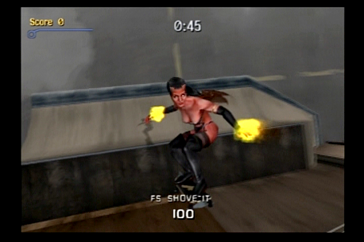 Tony Hawk's Pro Skater 3 PlayStation 2 Demoness can be unlocked as a skater.
