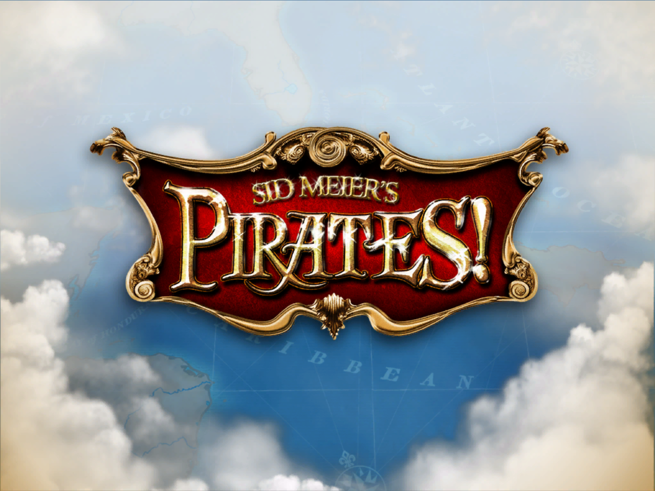 Sid Meier's Pirates!: Live the Life Windows Title screen