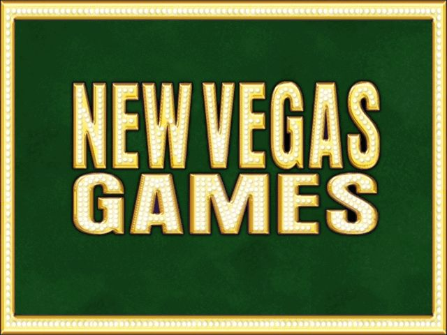 New Vegas Games Windows The Title Screen! (everybody's favorite screenshot)