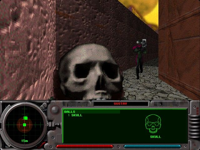 "Marathon 2: Durandal Macintosh A Kill The Guy With The Ball net game (the skull is the ""ball"")."