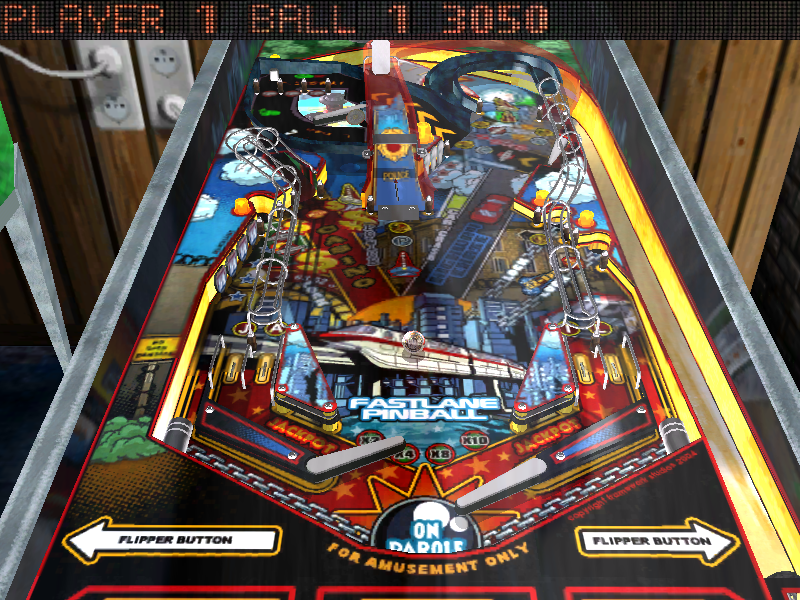 Fastlane Pinball Screenshots for Windows - MobyGames