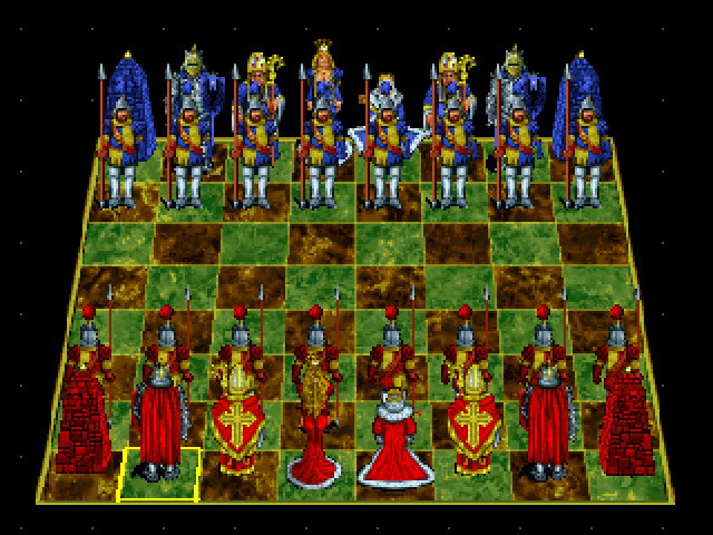 Battle Chess: Enhanced CD-ROM 3DO Standard view