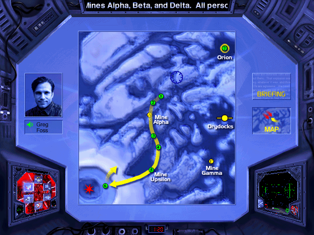 Absolute Zero DOS Map of upcoming mission