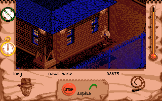 Indiana Jones and The Fate of Atlantis: The Action Game Amiga Searching.
