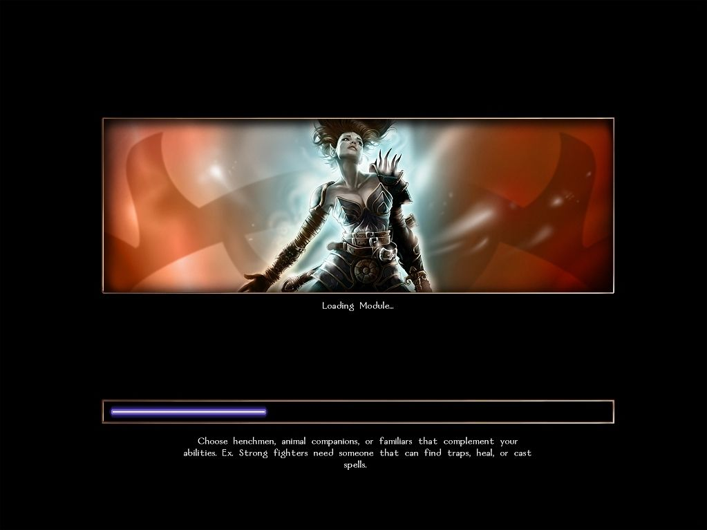 Neverwinter Nights Windows Common sense. The loading screens feature pretty artwork and useful (if pretty obvious) gameplaying suggestions.