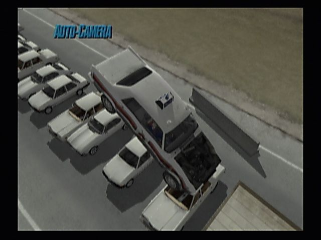 Stuntman PlayStation 2 Below the law. The arena mode allows for jumps over various cars and schoolbuses among the various stunts.
