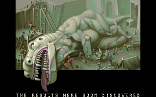 Soldiers of Fortune DOS Intro sequence