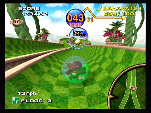 Super Monkey Ball GameCube The goal is in sight