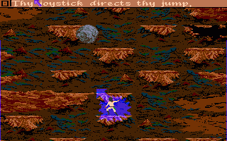 Sinbad and the Throne of the Falcon Amiga When an earthquake occurs, Sinbad must climb his way out of the chasm