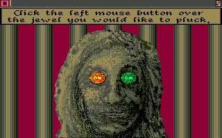 Sinbad and the Throne of the Falcon Amiga Grab a jewel when it's green-lit or you will ire the Idol