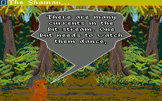 Sinbad and the Throne of the Falcon Amiga The Shaman's help is essential, but finding him will not be easy